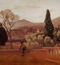 Corot Gardens of the Villa d Este at Tivoli