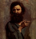 Corot Jean Baptiste Camille Corot Head Of Bearded Man
