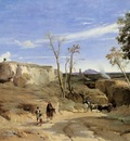 Corot La Cervara the Roman Countryside