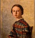 Corot Portrait of a Young Girl, 1859, NG Washington