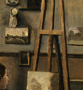 Corot The Artists Studio, c  1855 1860, Detalj 2, NG Washin