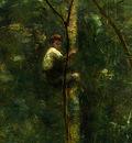 Corot The Eel Gatherers, c  1860 1865, Detalj 2, NG Washingt