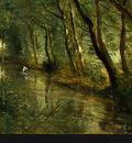 Corot The Eel Gatherers, c  1860 1865, Detalj 4, NG Washingt