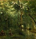 Corot The Eel Gatherers, c  1860 1865, NG Washington