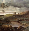 Corot The Roman Campagna in Winter