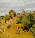 Corot The goat herd of Genzano, 1843, The Phillips Collectio