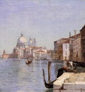 Corot Venice View of Campo della Carita from the Dome of the Salute