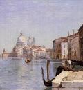 Corot Venice View of Campo della Carita from the Dome of the Salute