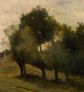 Corot View near Epernon, 1850 1860, Detalj 4, NG Washington