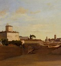 Corot View of Pincio Italy