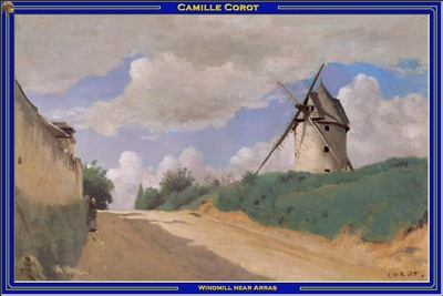 PO Vp S2 49 Corot Windmill near Arras