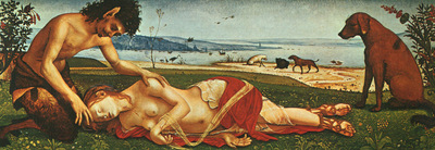 Piero di Cosimo The Death of Procris c1500