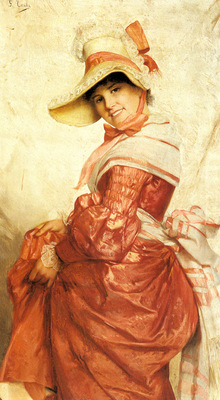 Costa Giovanni A Girl In Red