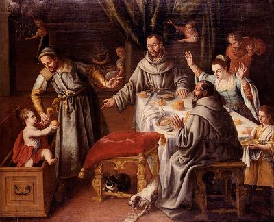 Cotan Fray Juan Sanchez The Miracle Of Saint Francis