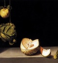 SANCHEZ COTAN Juan Still life With Quince cabbage Melon And Cucumber