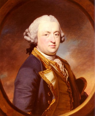 Cotes Francis Portrait Of Admiral Thomas Craven