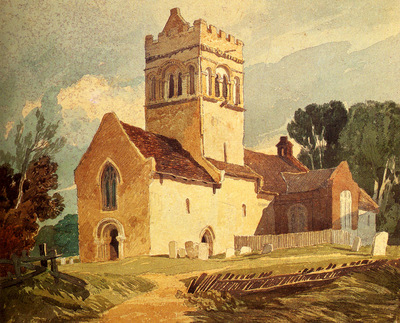 Cotman John Sell Gillingham Church Norfolk