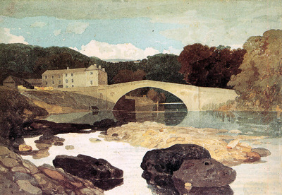 Cotman John Sell The bridge over the Greta Sun