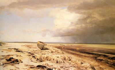 Cour Janus La Deserted Boat On A Beach