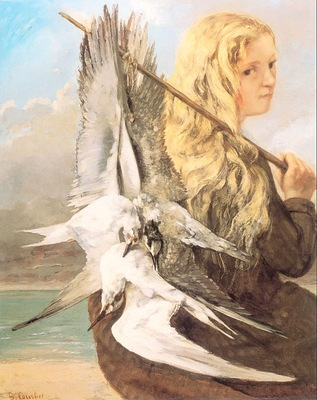 The Girl with the Seagulls, Trouville