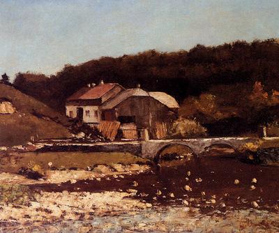 Courbet Gustave La Ferme De Bonnevaux