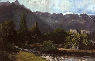 Courbet Gustave Le Glacier