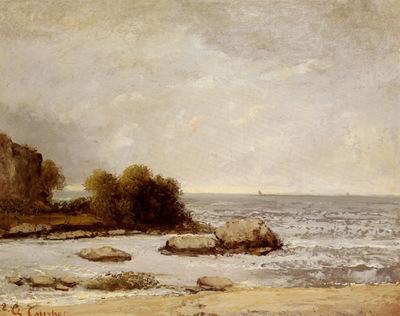 Courbet Gustave Marine De Saint Aubin