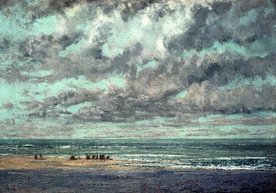 Courbet Gustave Marine Les Equilleurs