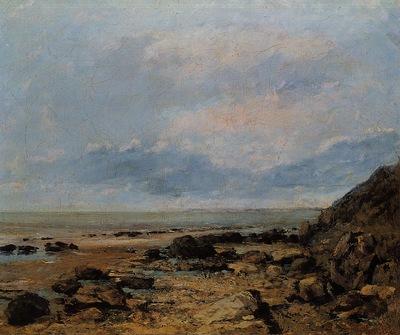 Courbet Gustave Rocky Seashore