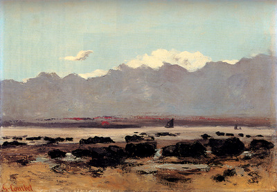 Courbet Gustave Seascape Near Trouville