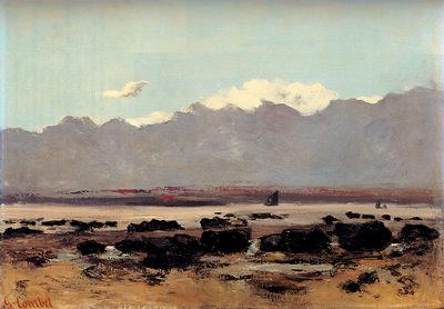 Courbet Gustave Seascape Near Trouville