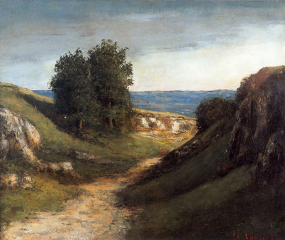 Courbet Paysage Guyere