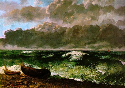 Courbet The stormy sea 1869 117x160 5 Musee dOrsay, Paris