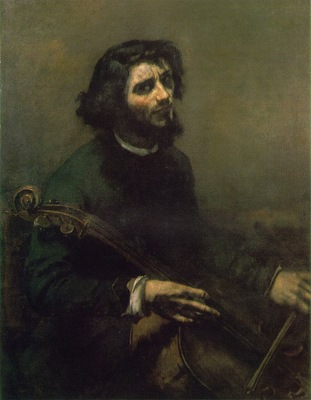 courbet cellist