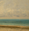 Courbet Calm Sea, 1866, Detalj 2, NG Washington