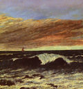 Courbet Gustave La Vague