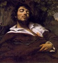 courbet portrait of the artist, called the wounded man,