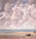 Courbet The Calm Sea, 1869, oil on canvas, The Metropolitan