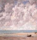 Courbet The Calm Sea, 1869, oil on canvas, The Metropolitan