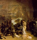 Courbet The Painters Studio A Real Allegory 1855 361x598 M