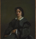 Courbet Woman with gloves, 1858, 63 2 x 52 1 cm, NG of Canad