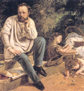Portrait of PJ Proudhon in 1853 CGF