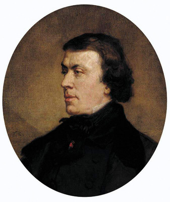 Couture Portrait of Philip Ricord