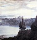 Cozens John Robert Lake Nemi Campagna Italy