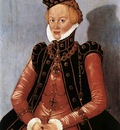 CRANACH Lucas the Younger Portrait Of A Woman
