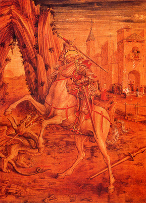 Crivelli Carlo St George And The Dragon