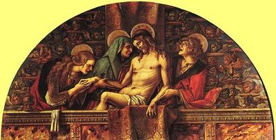 Crivelli Pieta, Pinacoteca Vaticana, Rome