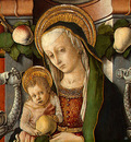 CRIVELLI MADONNA AND CHILD ENTHRONED WITH DONOR, C  1470, DE