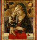 Crivelli Madonna and Child, before 1490, Ng Washington