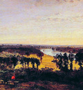 Richmond Hill and the Thames London